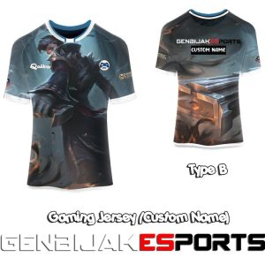 game character jersey